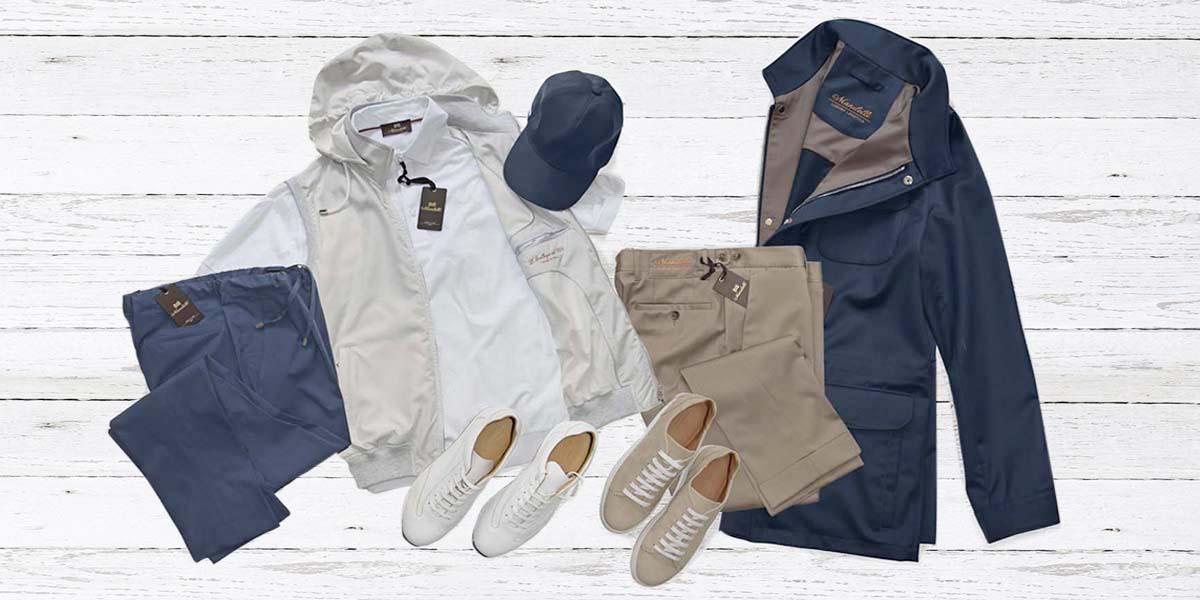 Il total look Mandelli: l'abbigliamento perfetto per ogni viaggio
