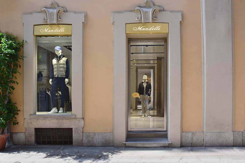 Boutique Mandelli Milano